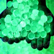Пробник светящегося в темноте зеленого орбиза, от 1 шт