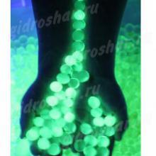 Светящиеся в темноте зеленые орбизы, 150 шт