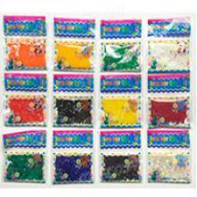 Набор 12 пакетиков по 120 шт каждого цвета шариков 11-15 мм