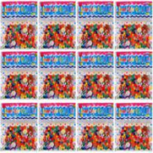 Набор 12 пакетиков по 120 шт разноцветных шариков 9-11 мм