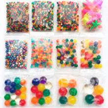 Набор 12 пакетов всех стилей шариков Орбиз и растущих фигурок