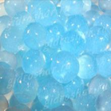 Небесный синий гидрогель с блеском 1,5 см, 2200 шт