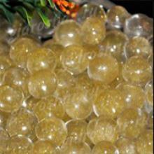 Золотой гидрогель с блеском 1,5 см, 2200 шт
