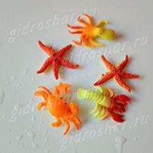 Растущие в воде красочные морские животные, 5 шт