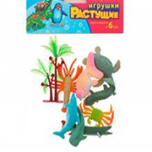 """Набор растущих игрушек """"Океан"""" 8 шт + дерево"""