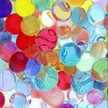 """Разноцветные шарики """"Orbeez"""" (Орбиз) 10 мм, 120 шт"""