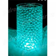 Гидрогель аквамариновый 7-11 мм, 10000 шт