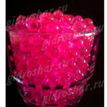 Гидрогель розовый 7-11 мм, 1000 шт