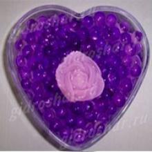 Гидрогель фиолетовый 7-11 мм, 2000 шт