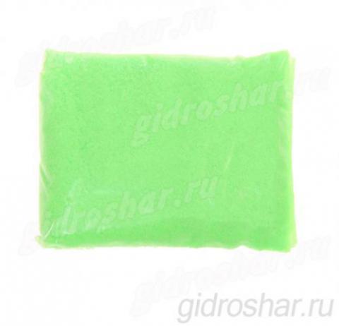 Аквагель для опытов,100 гр, цвет зеленый