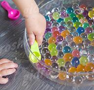 Разноцветные шарики Орбис (Orbeez) растущие в воде 15-20 мм, 1000 шт