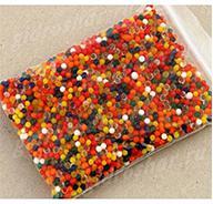Разноцветные шарики Орбис (Orbeez) растущие в воде 13-15 мм, 5000 шт