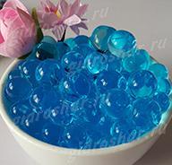 Гидрогель синий 13-15 мм, 120 шт