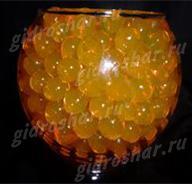 Гидрогель золотой 11-13 мм, 2000 шт