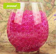 Гидрогель розовый 11-13 мм, 120 шт