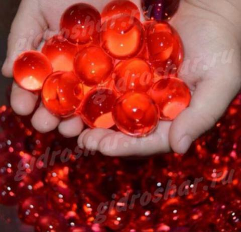 Гидрогель красный 15-20 мм, 5000 шт