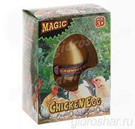 Яйцо с растущим Цыпленком 10,5х7,5х5 см, 1 шт