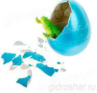 Яйцо с растущим Крокодилом 10,5х7,5х5,2 см, 1 шт