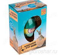 Яйцо с растущим Кенугру 10,5х7,5х5 см, 1 шт