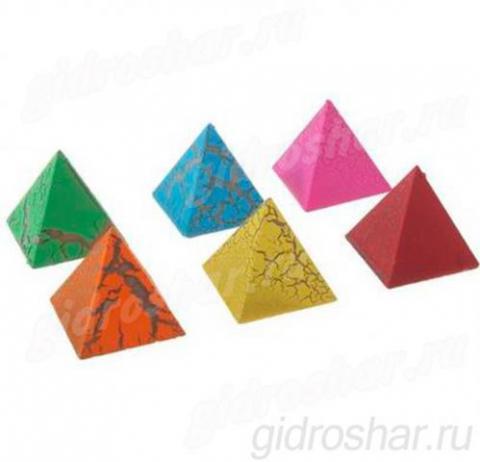 """Растущие фигурки """"Загадка пирамиды"""" 3,3х3,5 см, 6 шт"""