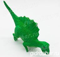Растущий в воде Зеленый Спинозавр, 1 шт