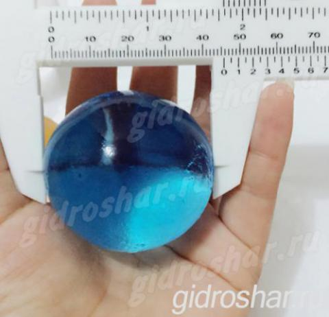 Синие растущие шарики ORBEEZ (Орбиз) 35-45 мм, 5 шт