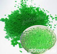 Гидрогель зеленый 7-11 мм, 1000 шт