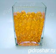 Гидрогель золотой 13-15 мм, 120 шт