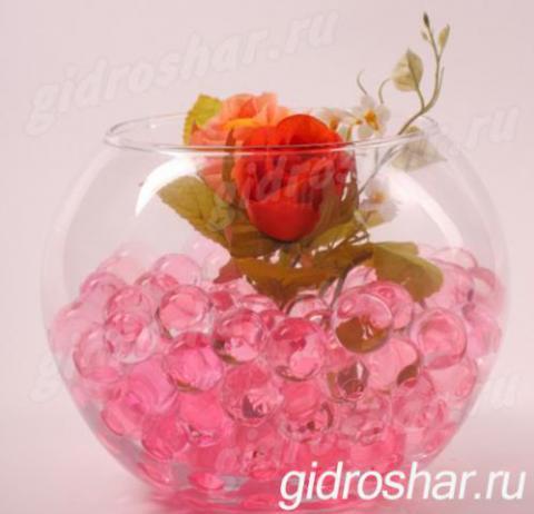 Гидрогель розовый 13-15 мм, 10000 шт