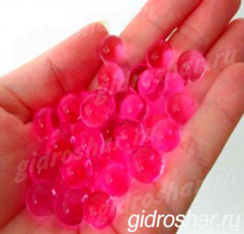 Гидрогель розовый 13-15 мм, 2000 шт