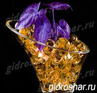 Гидрогель золотой 15-20 мм, 1000 шт