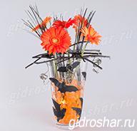 Гидрогель оранжевый 15-20 мм, 1000 шт