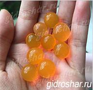 Гидрогель оранжевый 15-20 мм, 120 шт