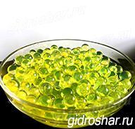 Гидрогель желтый 15-20 мм, 5000 шт