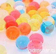 Гидрогель разноцветный 15-20 мм, 120 шт