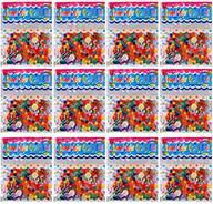 Набор 12 пакетиков (120 шт) разноцветного гидрогеля 11-15 мм