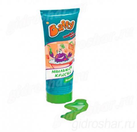 Baffy Мыльная краска цвет зеленый, 1 шт