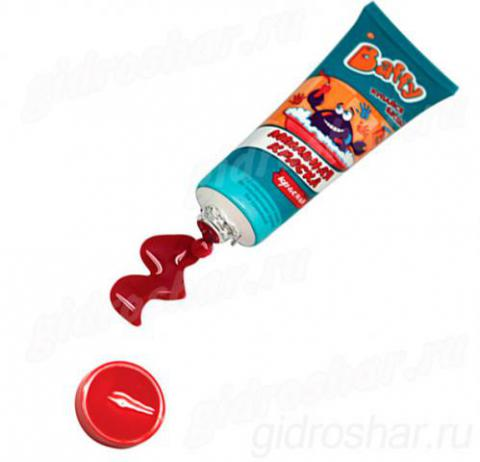 Baffy Мыльная краска цвет красный, 1 шт