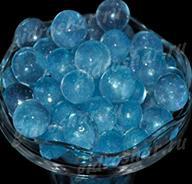 Небесный синий гидрогель с блеском 1,5 см, 10000 шт