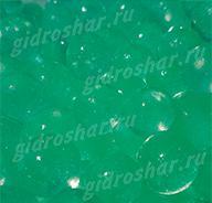 Мятный гидрогель с блеском 1,5 см, 10000 шт