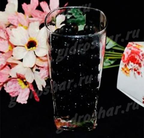 Гидрогель черный 15-20 мм, 120 шт