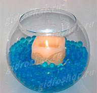 Гидрогель синий 7-11 мм, 1000 шт