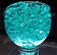 Гидрогель аквамариновый 7-11 мм, 1000 шт