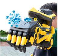 Рука-трансформер стреляющая гидрогелевыми шариками с виртуальной реальностью