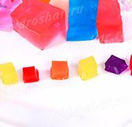 """Кубики """"Orbeez"""" (Орбиз), цветные, 50 шт"""