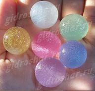 """Разноцветные шарики """"Orbeez"""" (Орбиз) перламутровые 35-40 мм, 5 шт"""