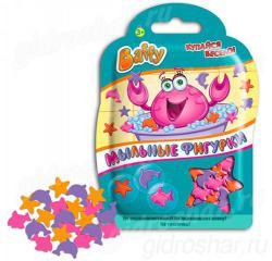 Мыльные фигурки Baffy 8гр, цвет розовый оранжевый фиолетовый, 1 шт