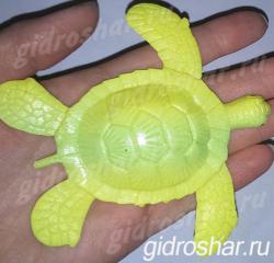 Растущая в воде Желтая Черепаха, 1 шт