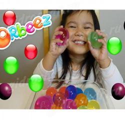 Цветные растущие шарики ORBEEZ (Орбиз) 35-45 мм, 200 шт